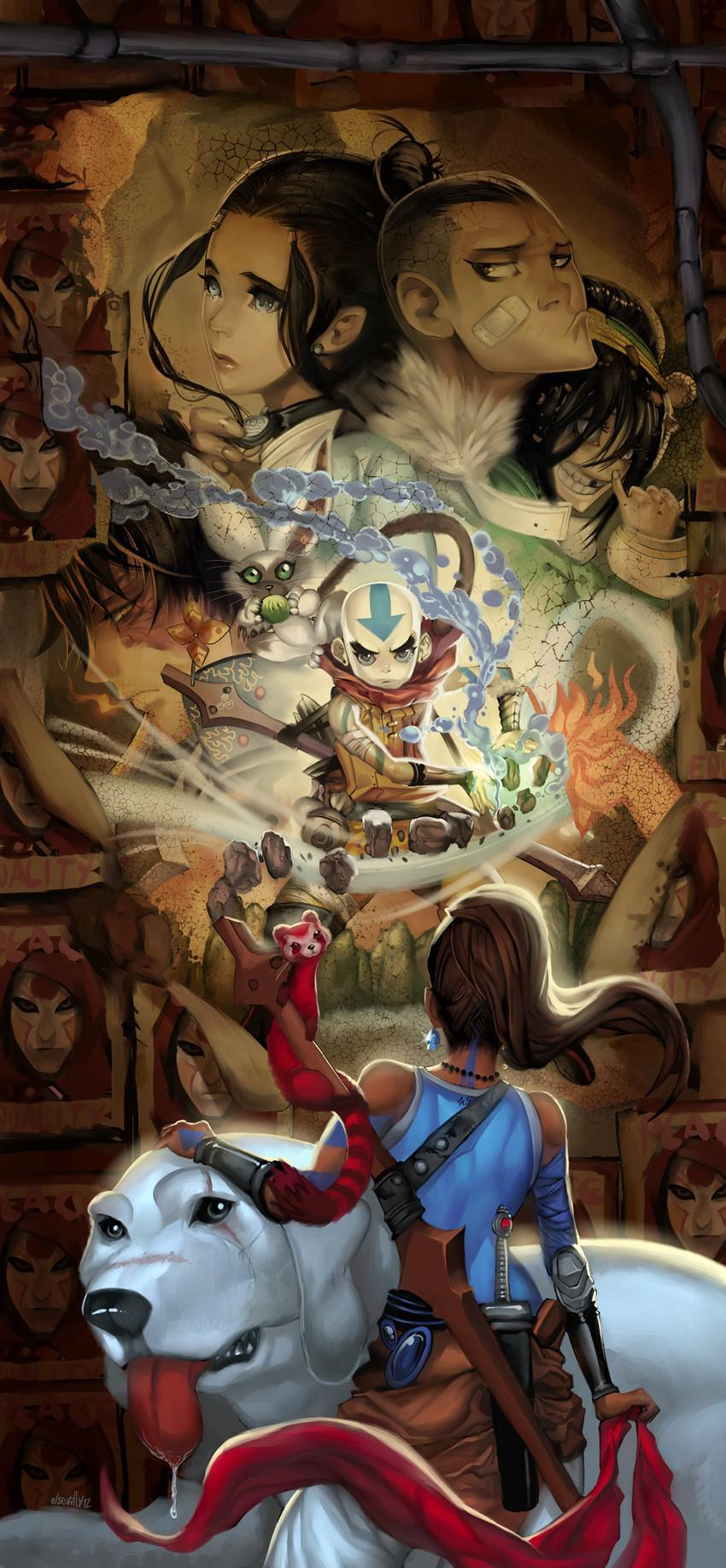 11 Changes The Legend Of Korra Makes To The Avatar: The