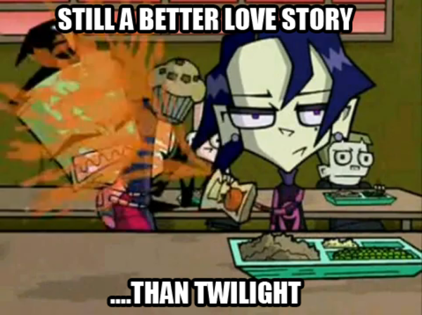 [Image - 362741] | Still a Better Love Story than Twilight ... Zim And Tak Love Story