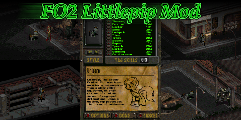 Fallout 2: Littlepip Mod Fallout: Equestria Know Your Meme