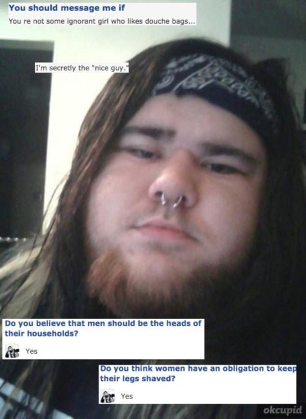 Creepy dating site meme