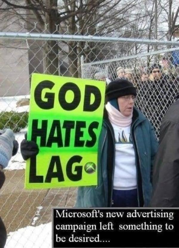 god hates lag