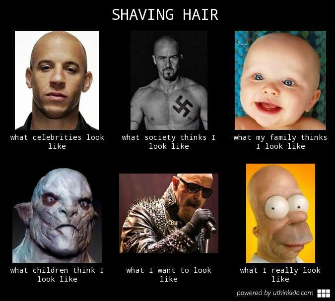 Shaving Hair Know Your Meme