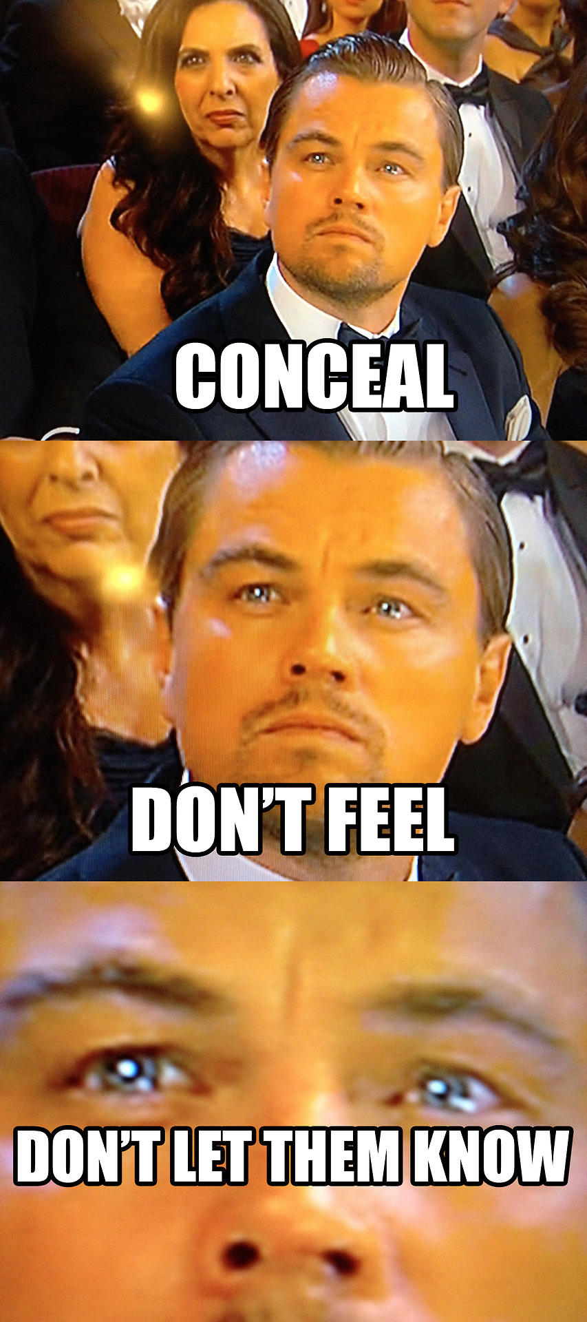 Image 710765 Leonardo Dicaprio Gets Snubbed By Oscar