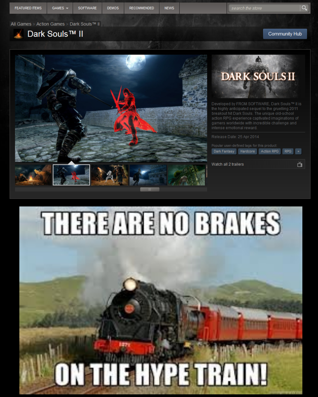 Trending Dark Souls 2 Meme