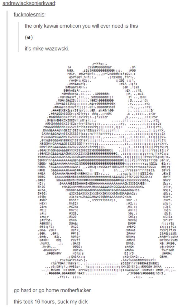 [Image - 811613]   ASCII Art   Know Your Meme
