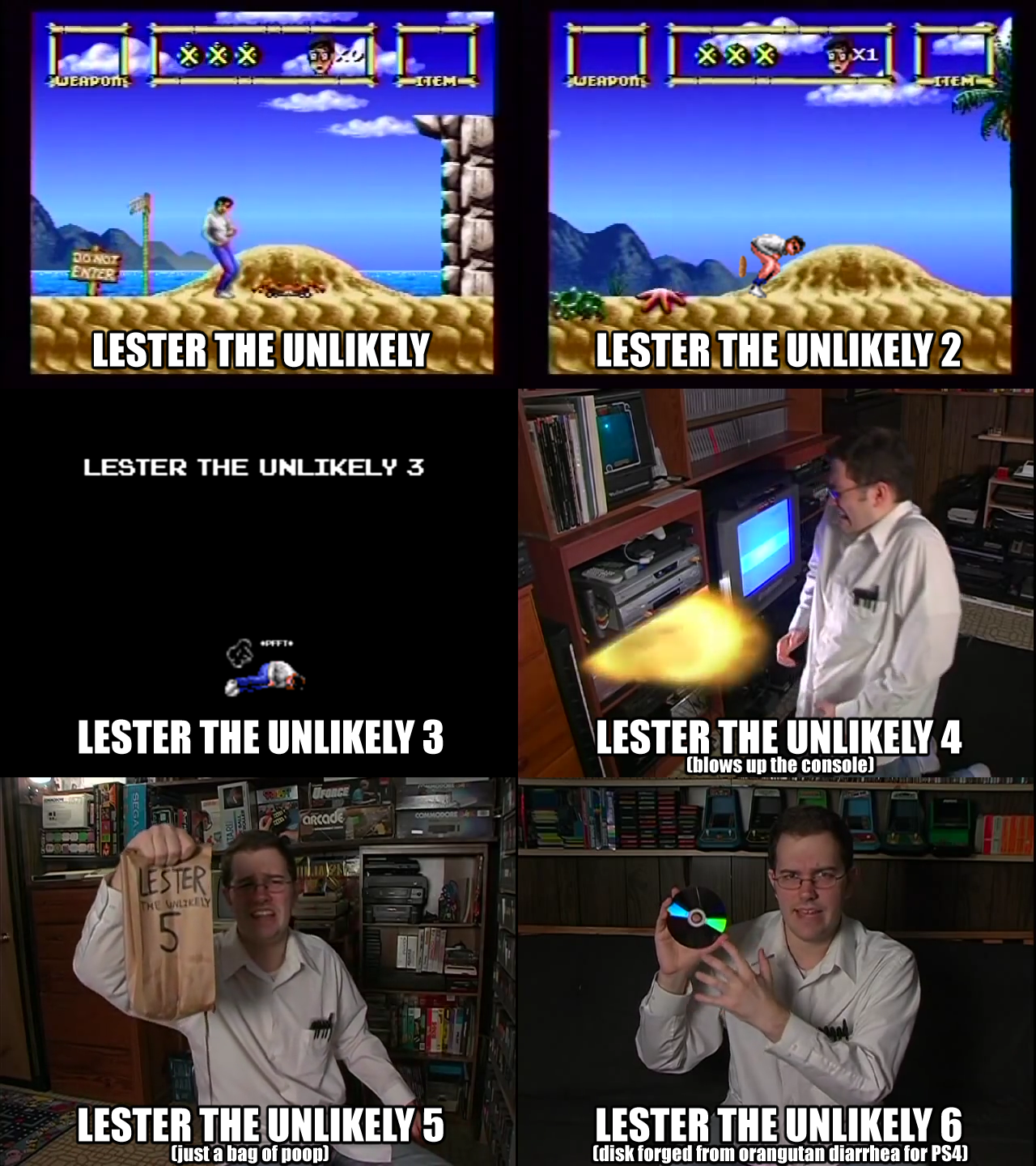 the lester the unlikely series