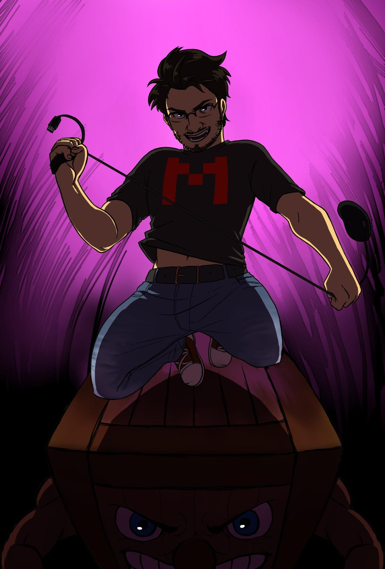 Markiplier and Not-So-Tiny Box Tim | Markiplier | Know ...
