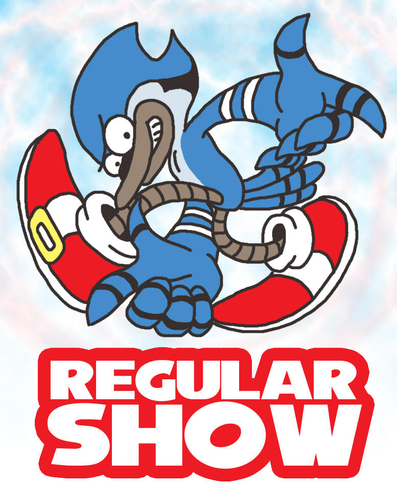 Regular Show Anime Rigby