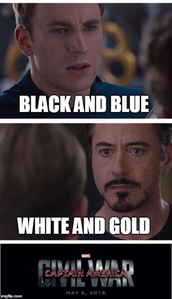 Age 5 white dress meme