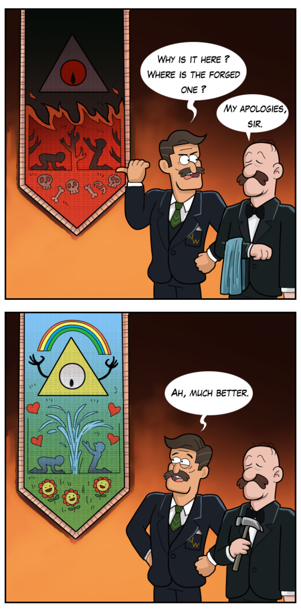 The tapestry   Gravity Falls   Know Your Meme