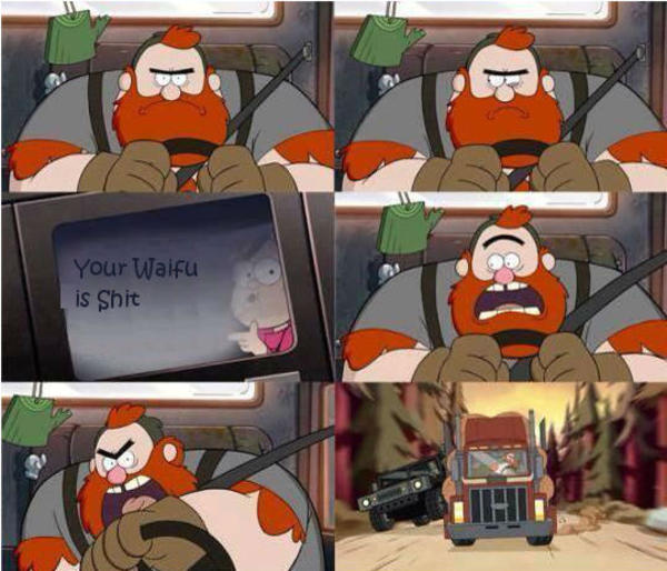 mable talks   waifu gravity falls   meme