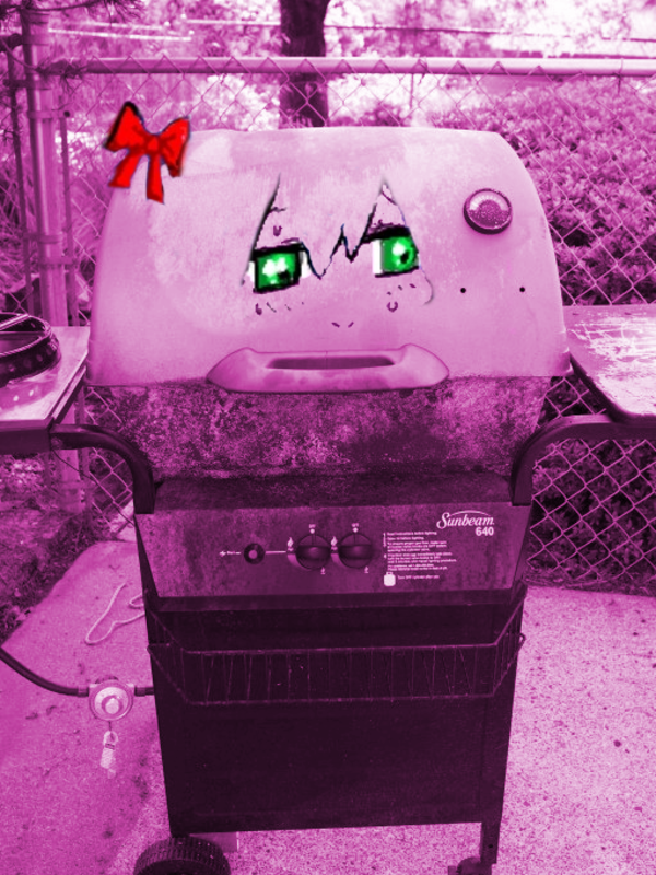bury pink gril