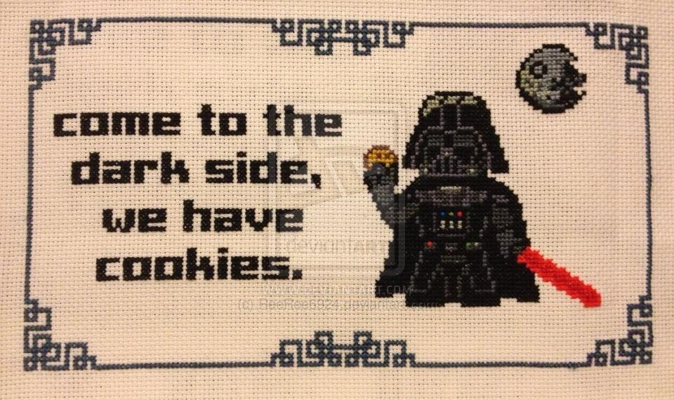 Dark Side Empbroidery Come To The Dark Side Know Your