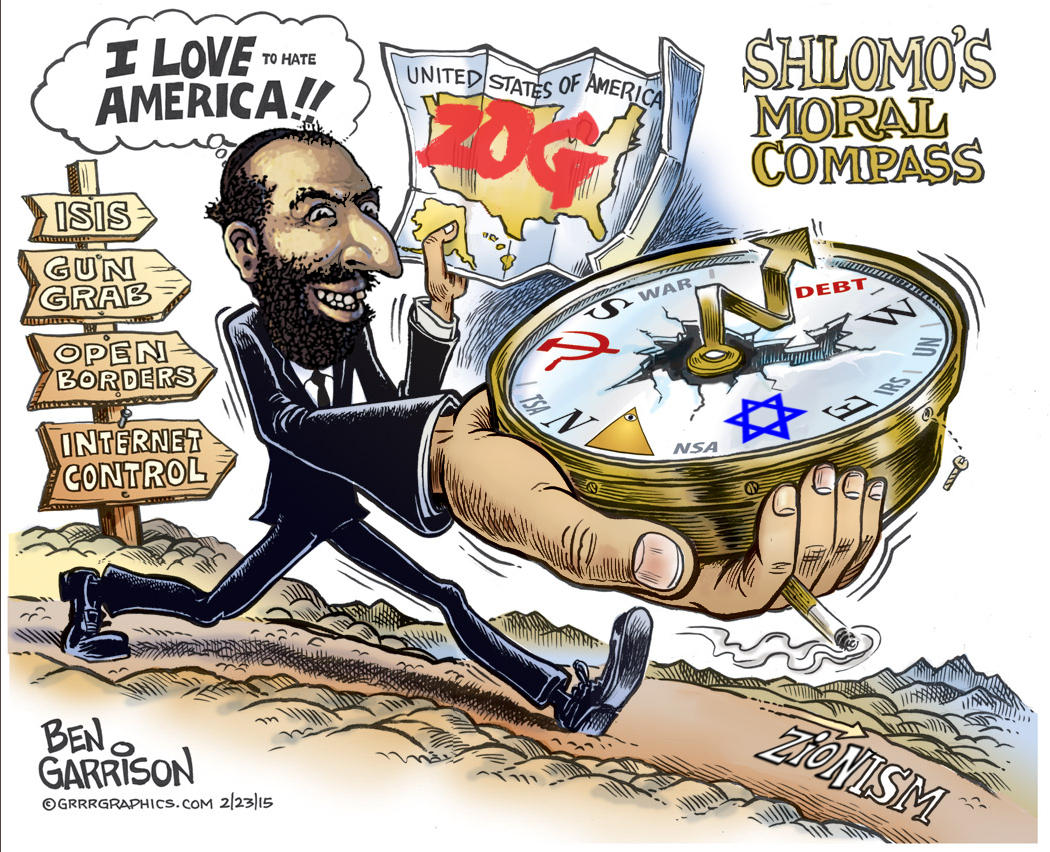 Shlomos Compass Ben Garrison Know Your Meme