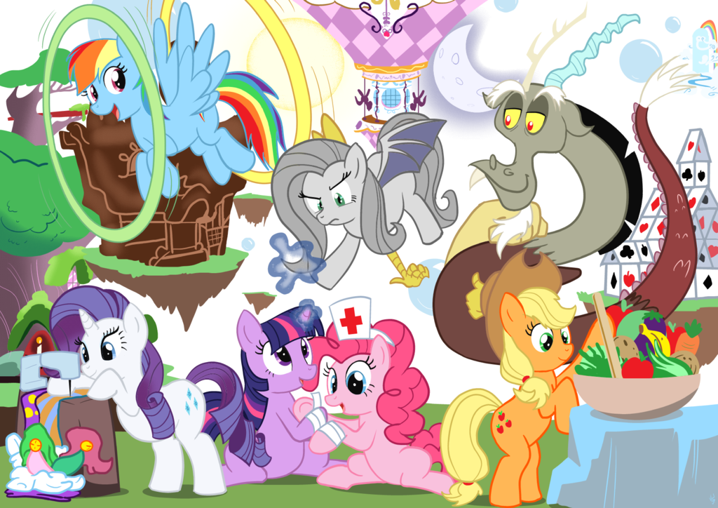 my little pony chaos - photo #6