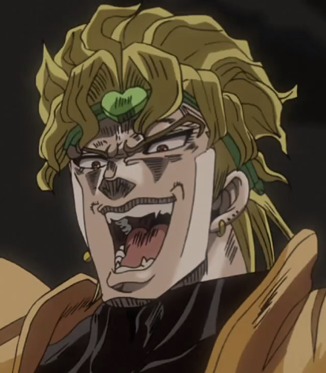 Amused Dio Jojo S Bizarre Adventure Know Your Meme