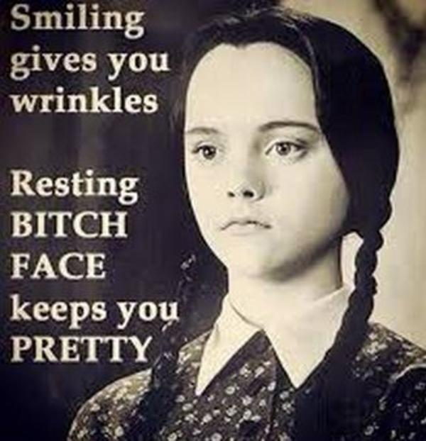 Image result for resting bitch face