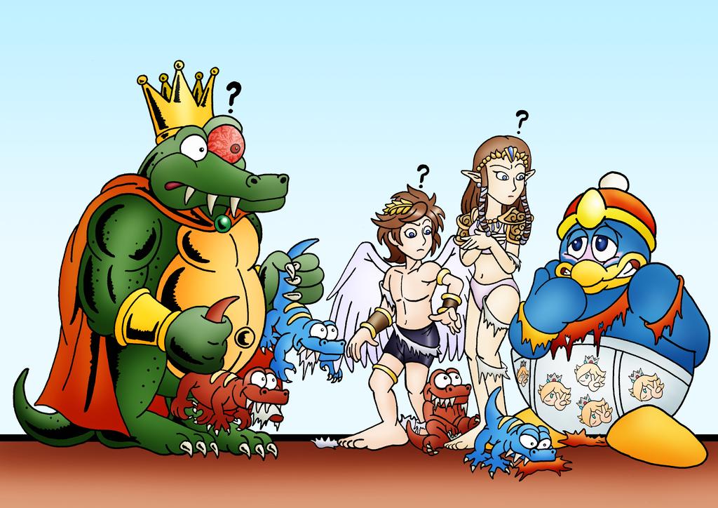 Uuuuh Super Smash Brothers