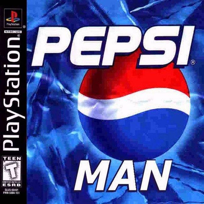 Pepsiman ps1 game cover pepsiman know your meme - High resolution playstation logo ...