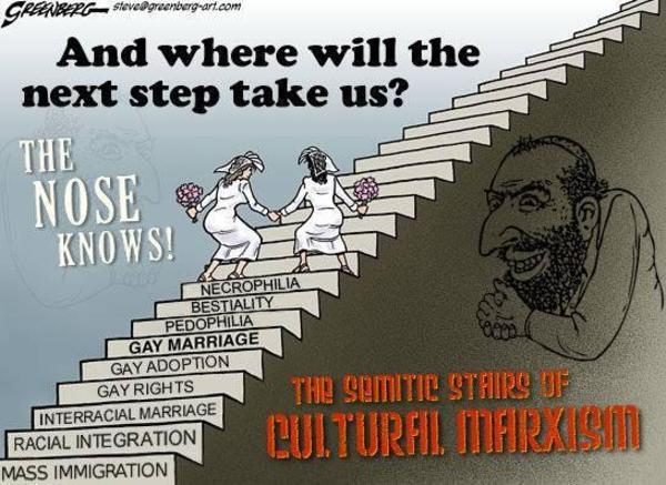 Картинки по запросу ben garrison cultural marxism
