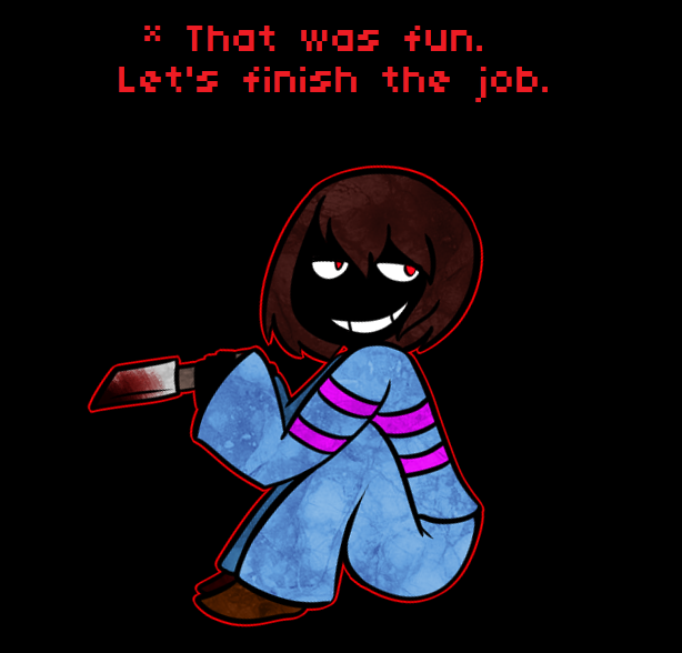 pacifist run after genocide ending relationship