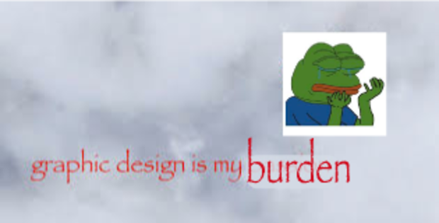 burden with pepe the frog