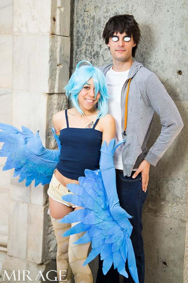 papi cosplay musume Monster