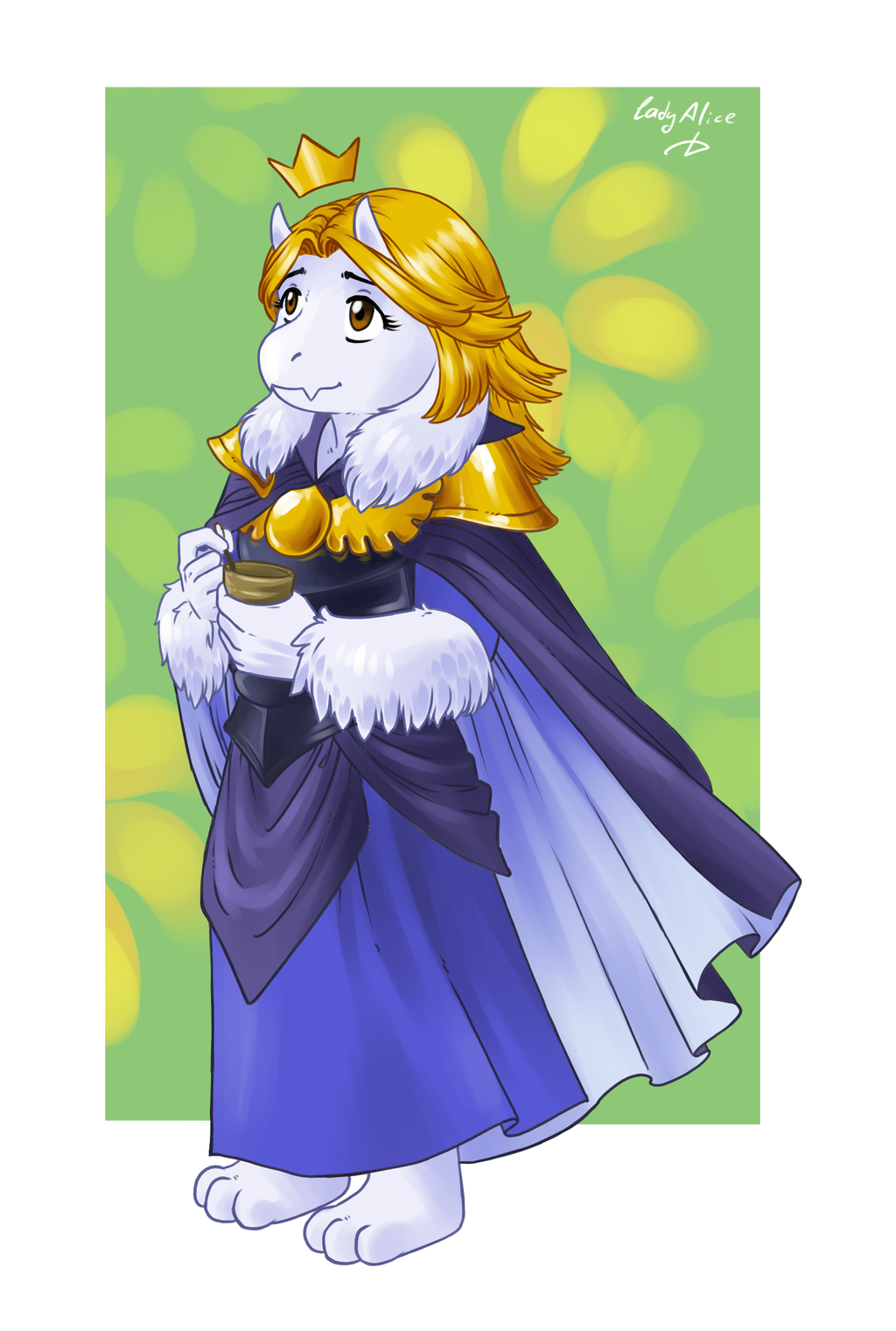 r63 has arrived  so here u0026 39 s queen asgore