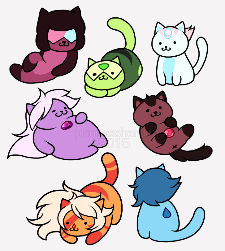 Crystal Cats Steven Universe Know Your Meme