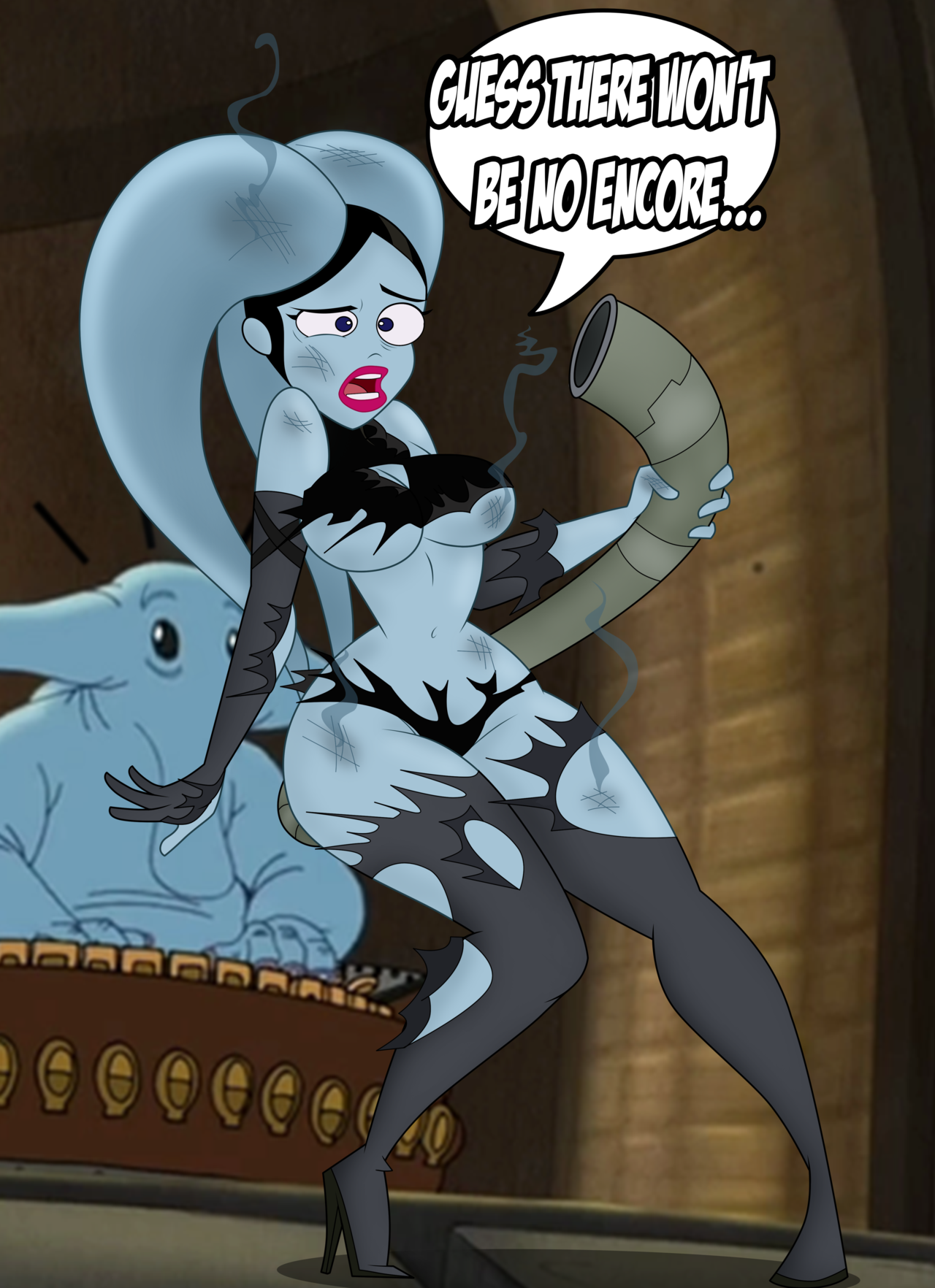 vanessa doofenshmirtz blowjob