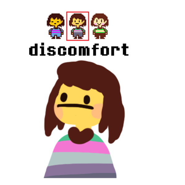 you are filled with discomfort undertale know your meme
