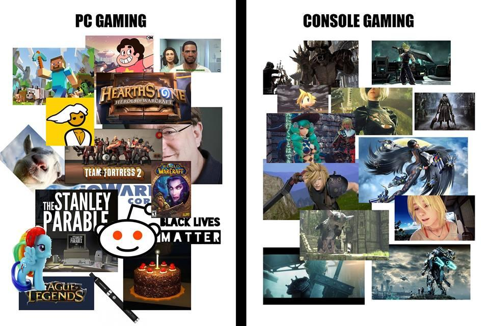 PC Gaming vs Console Gaming - Which Should I Choose in 2019? |Pc Gamers Vs Console Gamers