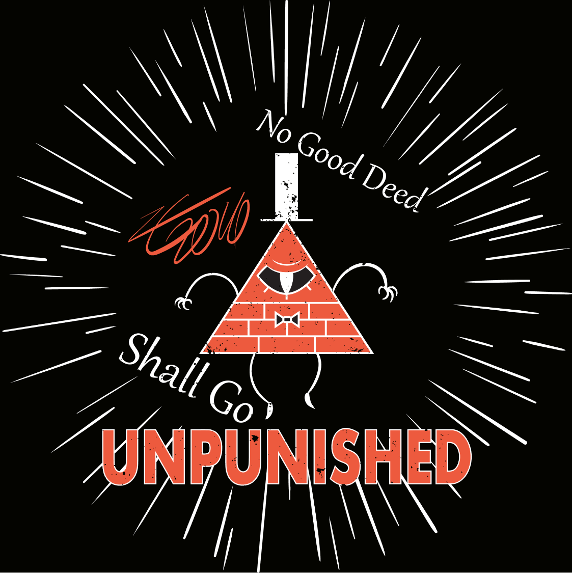 Bill Cipher Design- No Good Deed By LiraCrown