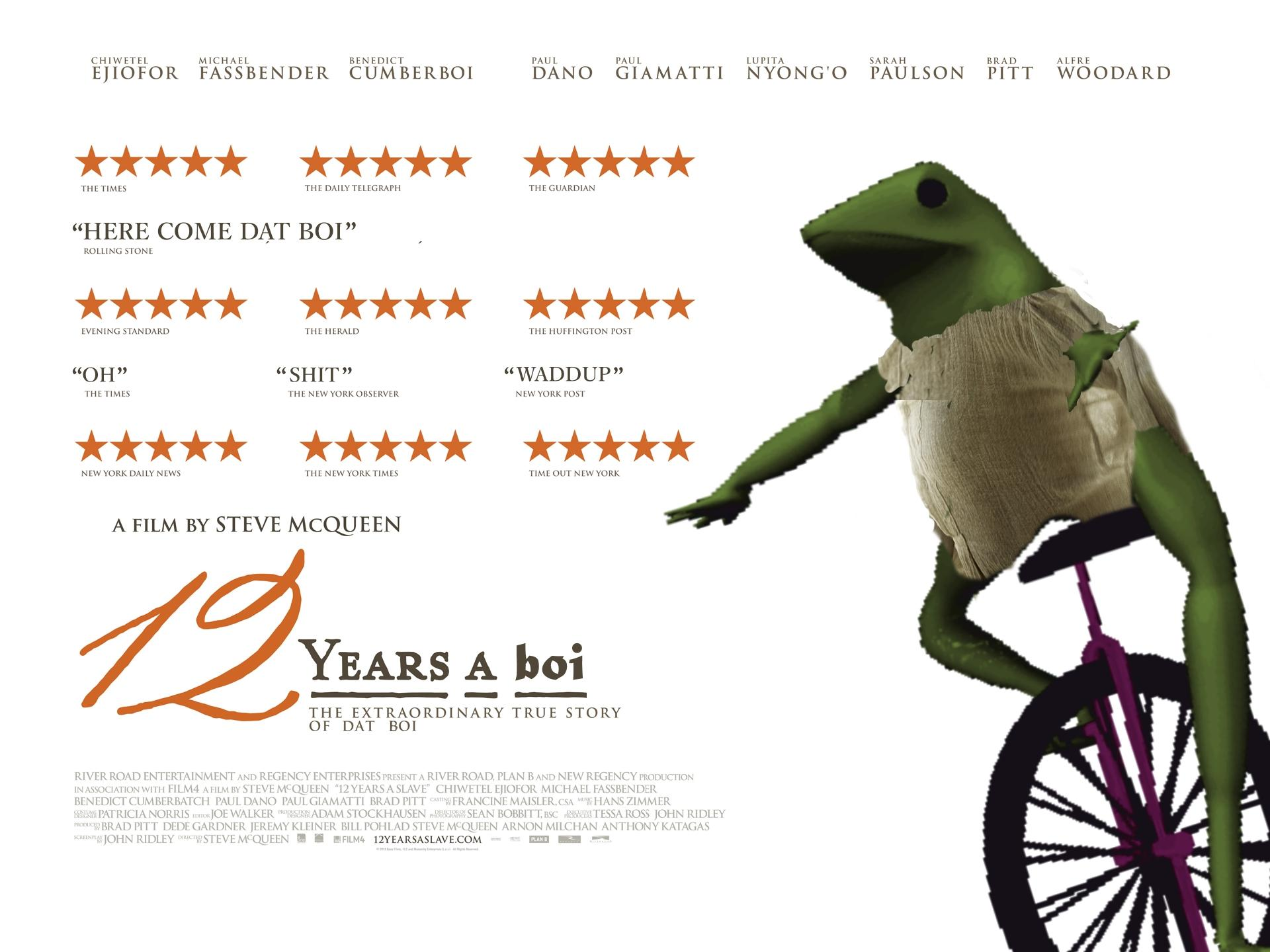 12 Years A Boi   Dat Boi   Know Your Meme
