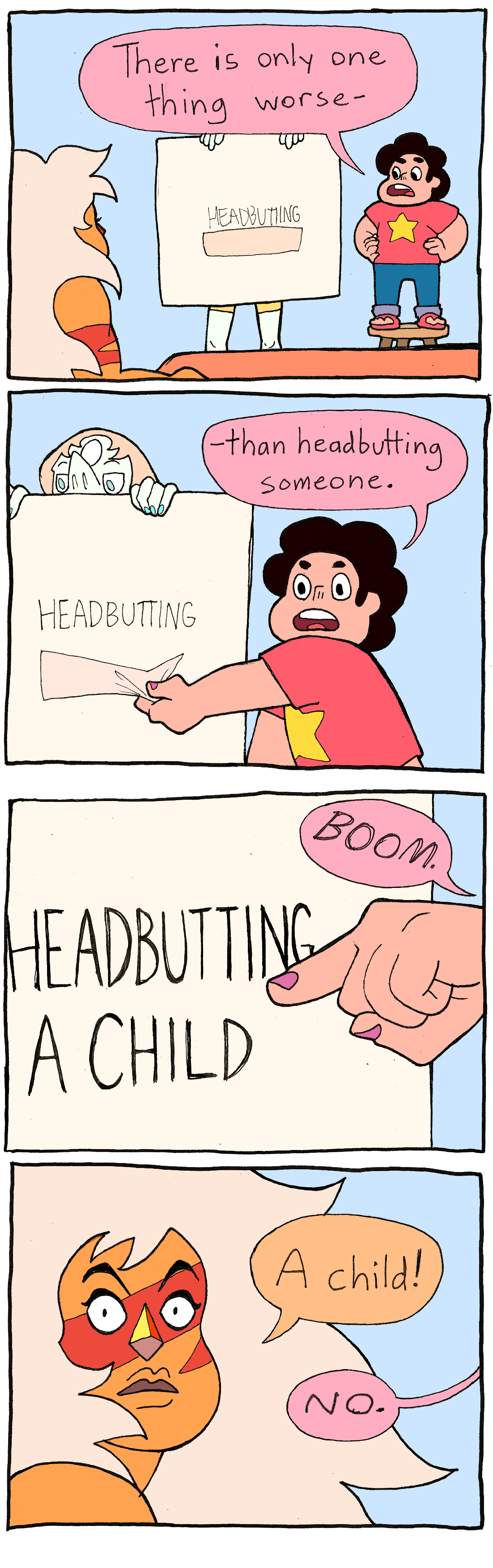 Worse than Headbutting | Steven Universe | Know Your Meme