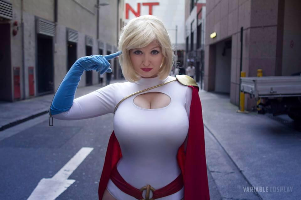 Have Power girl cosplayers xxx apologise