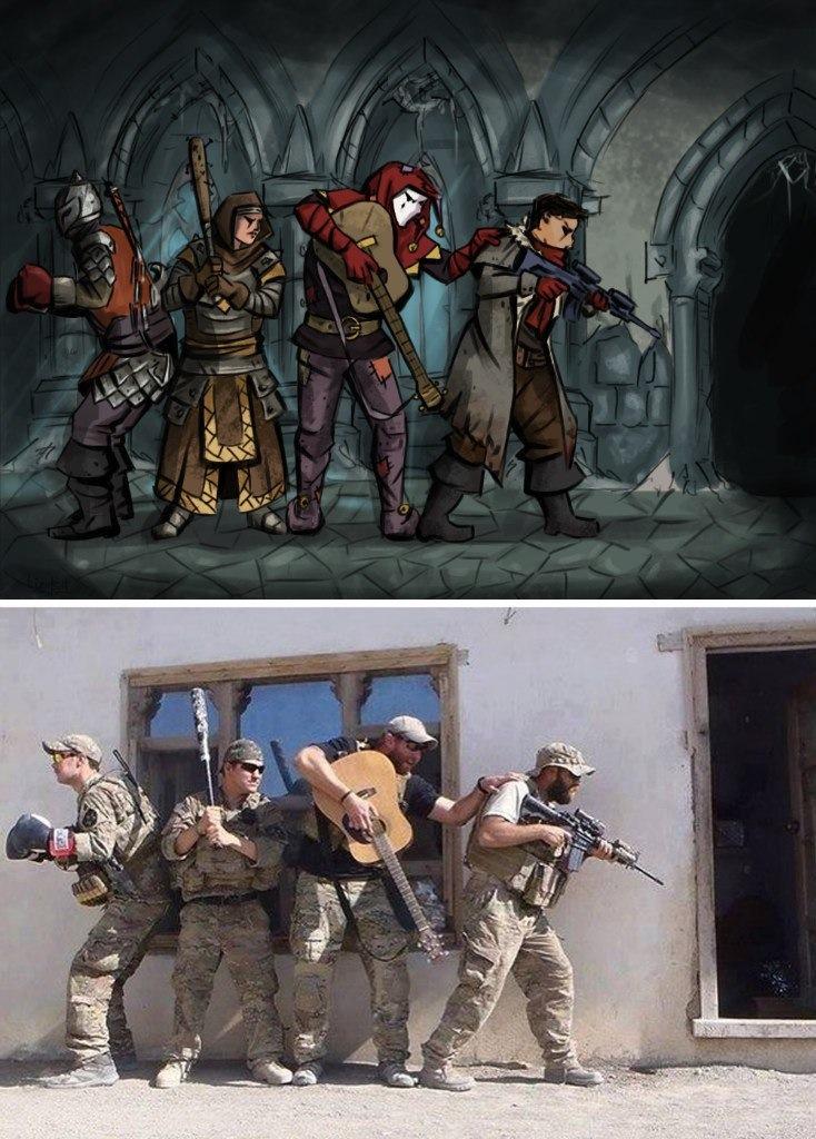 darkest squad darkest dungeon know your meme