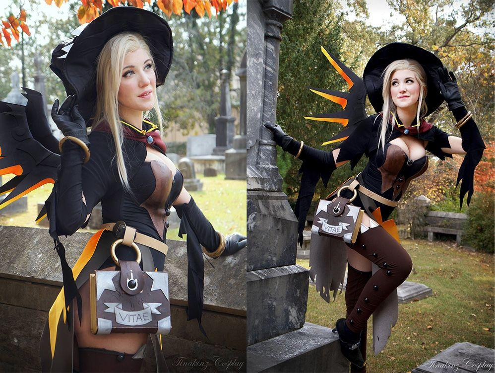 Witch Mercy Cosplay   Overwatch   Know Your Meme