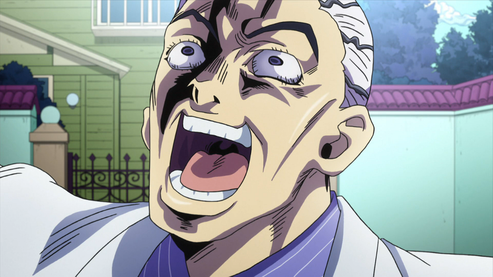 Laughing Kira: Frame 2 | JoJo's Bizarre Adventure | Know ... - photo#40