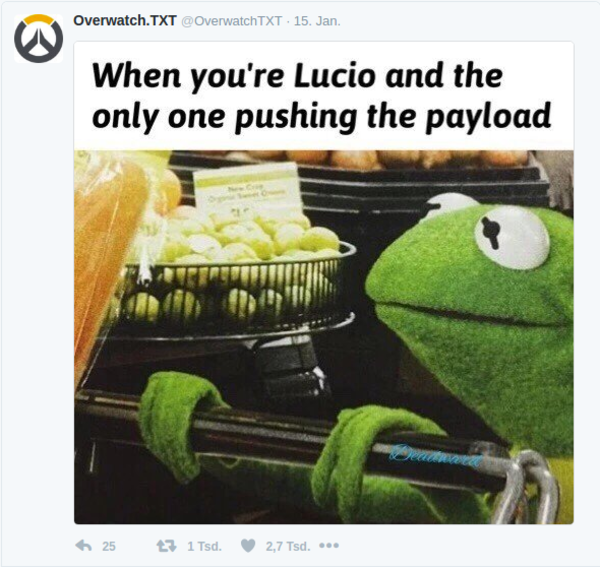 Pushing The Payload Overwatch Know Your Meme