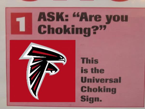 this is the universal choking sign super bowl li know