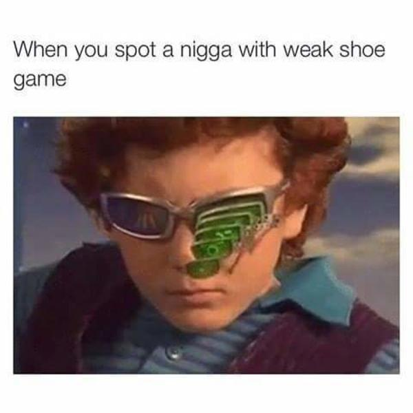 Weak Shoe Game | Spy Kids 2 Glasses | Know Your Meme