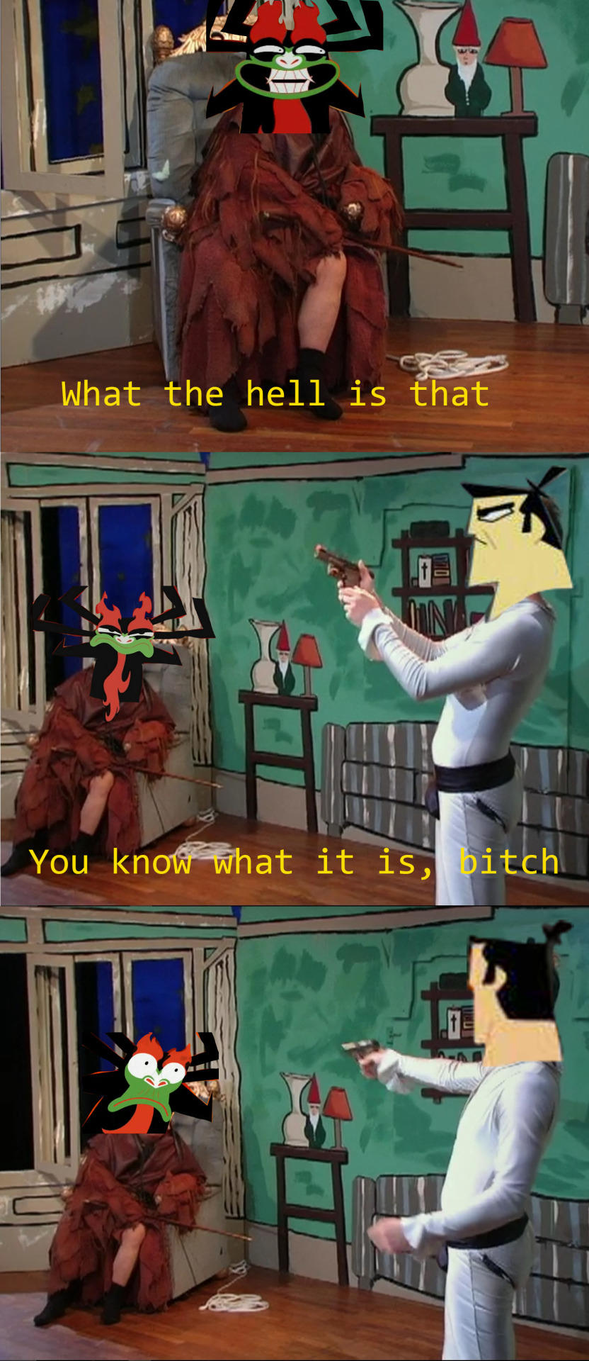 You know what it is | Samurai Jack | Know Your Meme
