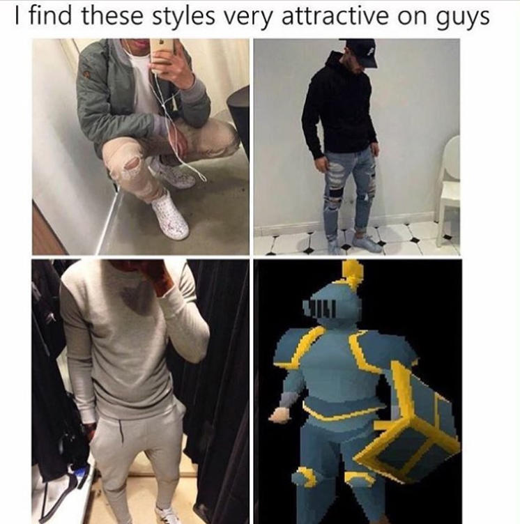 Hairstyles Runescape : Attractive Styles RuneScape Know Your Meme