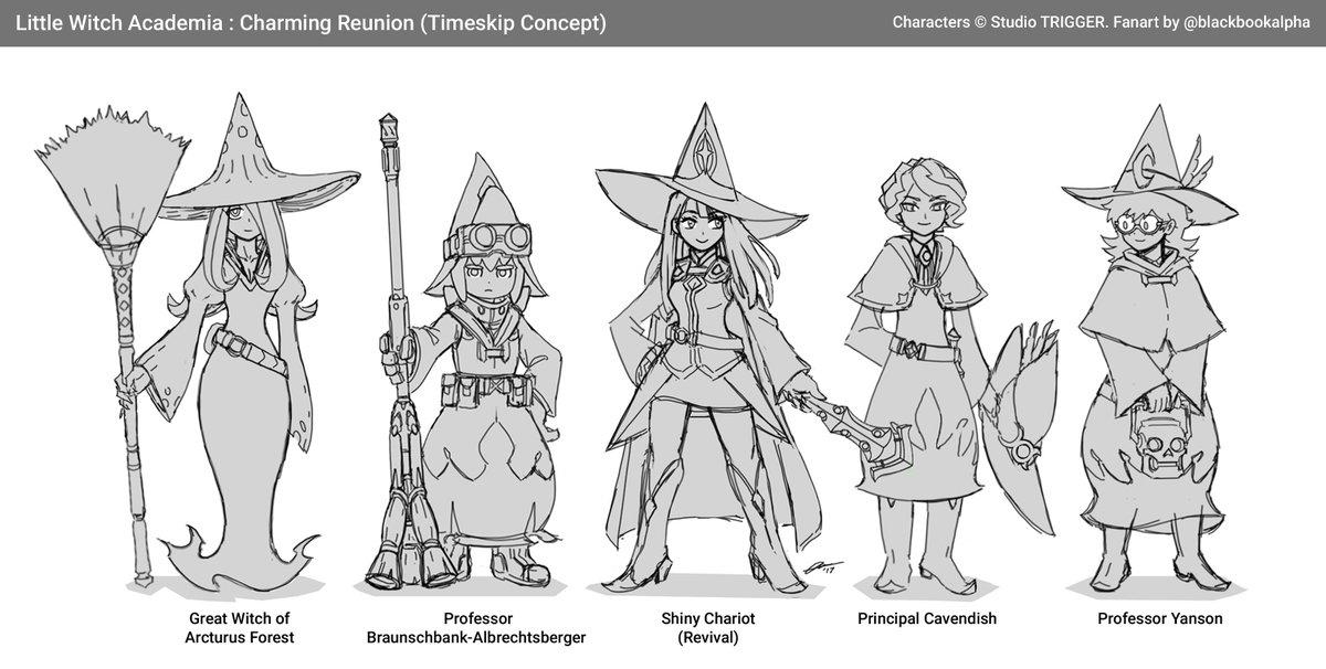 Timeskip Witches Little Witch Academia Know Your Meme