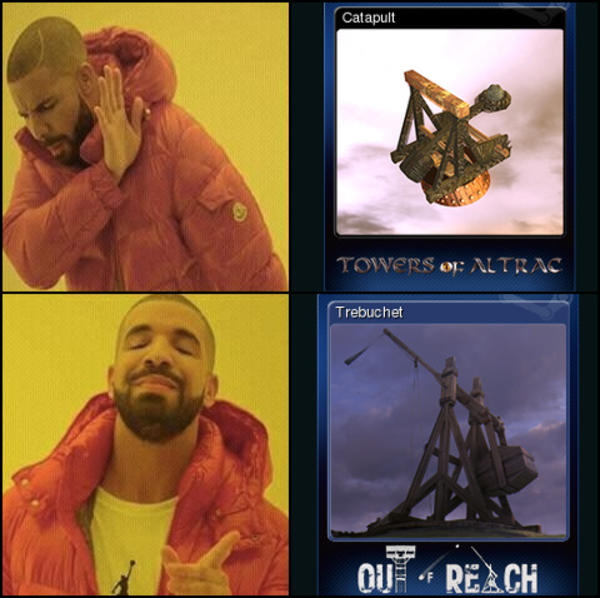 Trebuchets Are The Only Answer