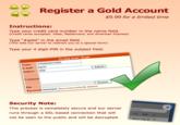 Gold Membership Trolling