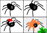 Paying Bills with Spider Drawings (Seven-Legged Spider)