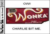 Charlie Bit Me