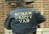 4chan Party Van